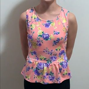 A'gaci flowered tank top